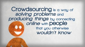 crowd sourcing definition