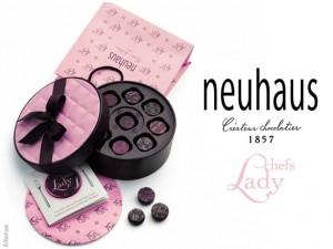 Neuhaus Lady Chef's chocolates