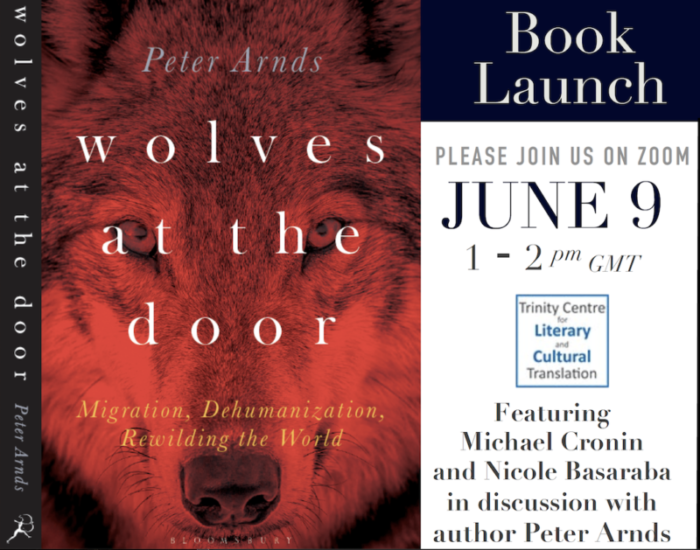 Post of book cover and event details